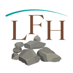 Laughter Family Hardscapes Logo
